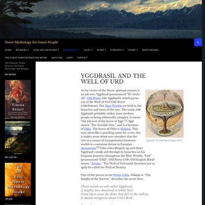 Yggdrasil and the Well of Urd - Norse Mythology for Smart People