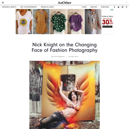 Nick Knight on the Changing Face of Fashion Photography