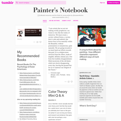Painter's Notebook