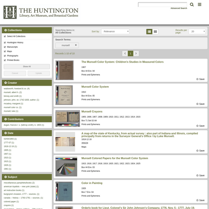 Search Results - Huntington Digital Library