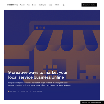 9 creative ways to market your local service business online
