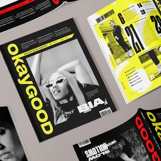 Just realizing now I never posted this, but here's some shots of the magazine I made for my type 3 design class. If I ever c...