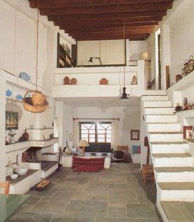 Private house on the island of Euboea, Greece designed by Atelier 66 architects Dimitris and Suzana Antonakakis, 1973.