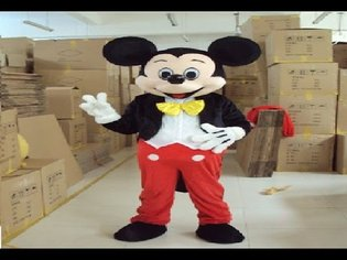 MICKEY MOUSE MASCOT REVIEW!!!!!