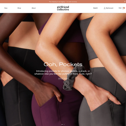 Girlfriend Collective - Ethically Made Activewear