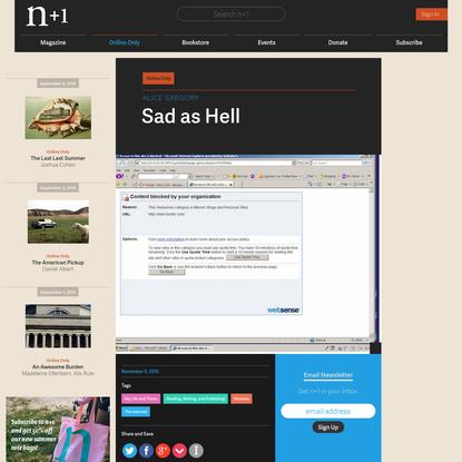 Sad as Hell