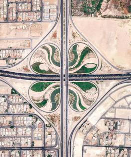 clover leaf interchange