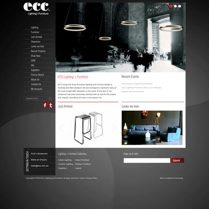 ECC Lighting and Furniture. Manufacturers