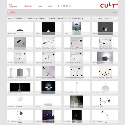 Lighting - Genuine Designer Furniture and Lighting