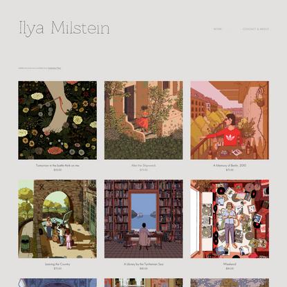 Shop - Ilya Milstein Illustration