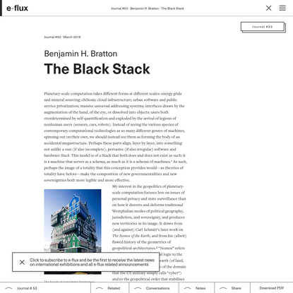 The Black Stack
