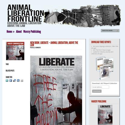Animal Liberation Front-Line: Animal Liberation Front (ALF) / animal rights news - Animal Liberation Front - action, analysi...