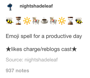 emoji spells