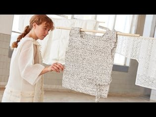 Sun Lee reworks traditional Korean craft into biodegradable paper fashion collection