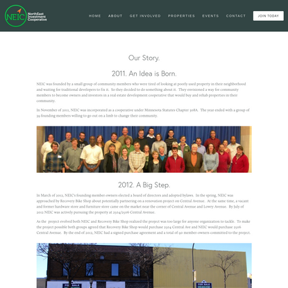 Our Story - NorthEast Investment Cooperative