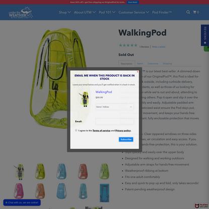 WalkingPod | Under the Weather