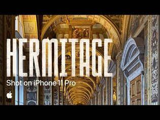 A one-take journey through Russia's iconic Hermitage museum | Shot on iPhone 11 Pro