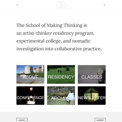 The School of Making Thinking