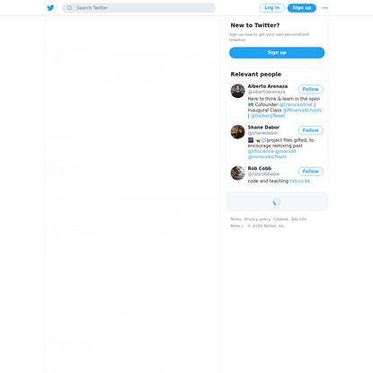 Alberto Arenaza on Twitter