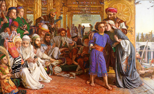 The Finding of the Saviour in the Temple, by William Holman Hunt