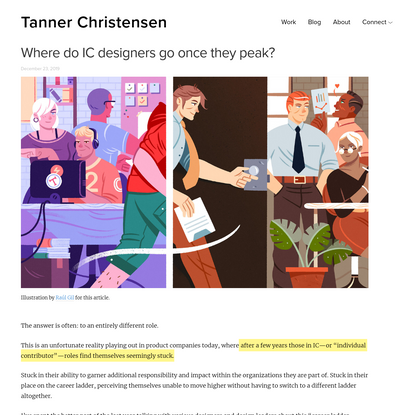 Where do IC designers go once they peak? - Tanner Christensen