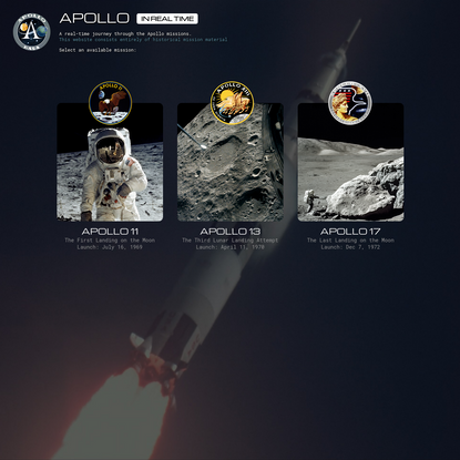 Apollo in Real Time