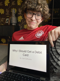 Tonight my son gave a PowerPoint presentation trying to get a Debit Card, then  @JohnSharkman  FaceTimed in giving some advice on how to polish up his pitch. I guess what I'm saying is- we're gonna be ok.