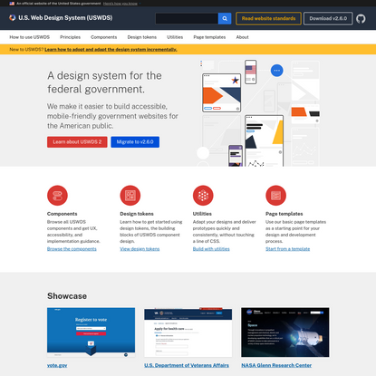 USWDS: The United States Web Design System