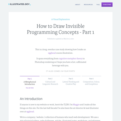 How to Draw Invisible Programming Concepts - Part 1