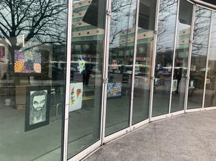 Madison Square Boys & Girls Club | Community Exhibition Window