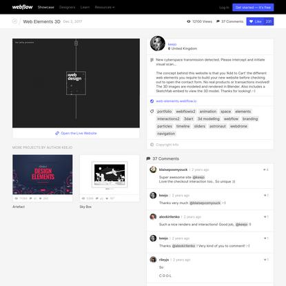 web-elements - Webflow