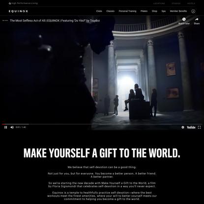 Equinox - Make Yourself A Gift