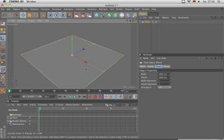 Quick Tip 03: How to fold a plane in C4D with the Bend Deformer