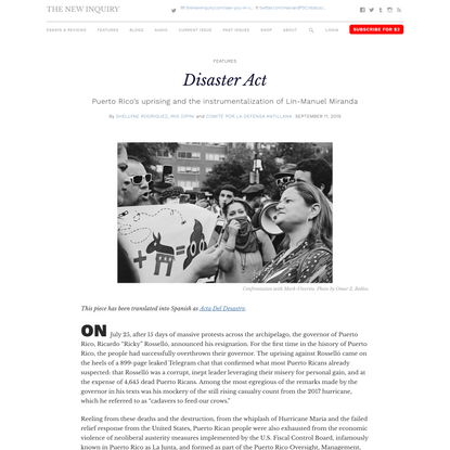 Disaster Act