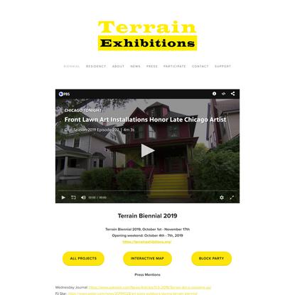 Terrain Exhibtions