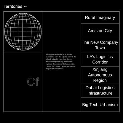 Territories Menu — Landscapes of Fulfillment