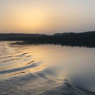 Sunrise on the River Nile