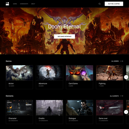 Interface In Game   Creative tool for video games lovers and game designers