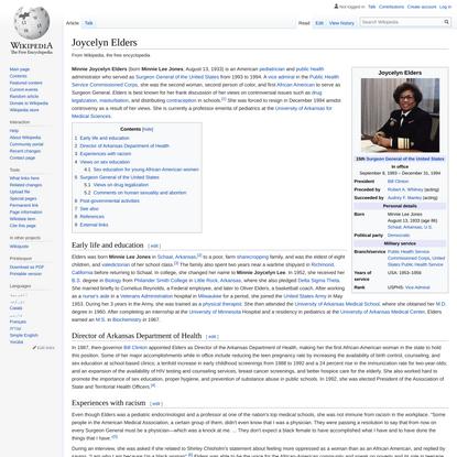 Joycelyn Elders - Wikipedia