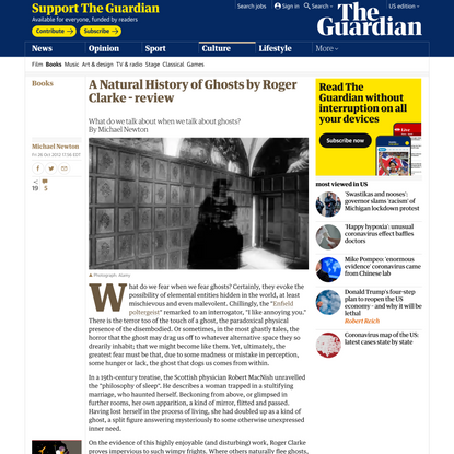 A Natural History of Ghosts by Roger Clarke - review