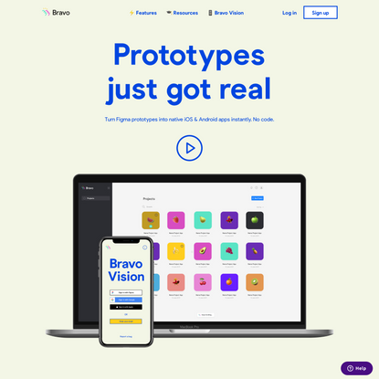 Bravo Studio App | Where your designs become real native apps.