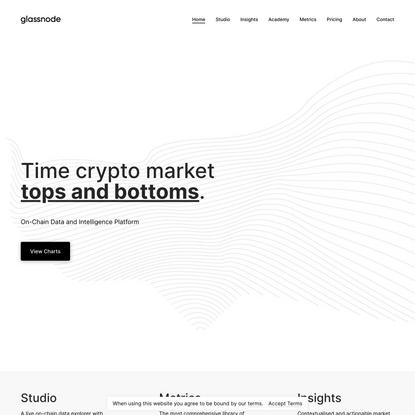 Glassnode - On-chain market intelligence