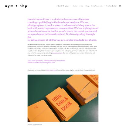 homie house press — aym + hhp