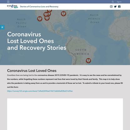 Coronavirus Stories of Loss and Recovery