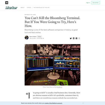 why-its-hard-to-kill-the-bloomberg-terminal-61073482e496