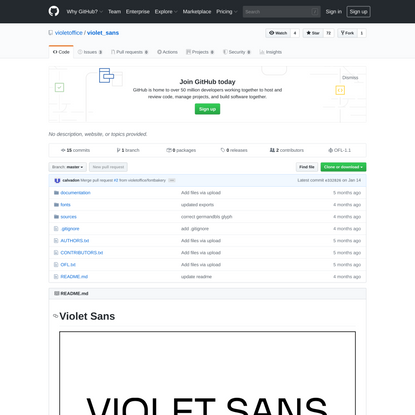 violetoffice/violet_sans