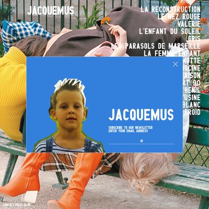 JACQUEMUS - Les collections