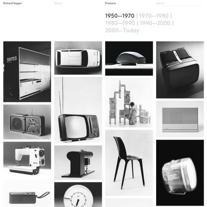 Richard Sapper - Products - 1950-1970