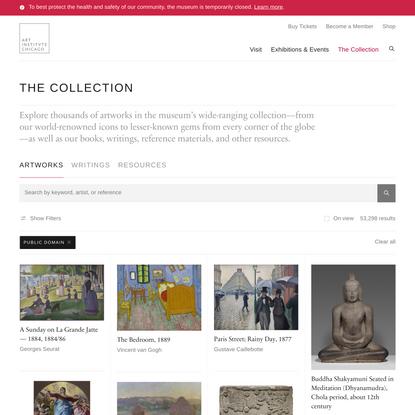 Public domain | The Art Institute of Chicago