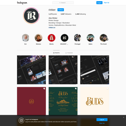 Alex Rinker (@rinker) • Instagram photos and videos
